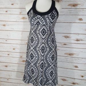Prana Boho Print Built-in Bra Dress Size Medium